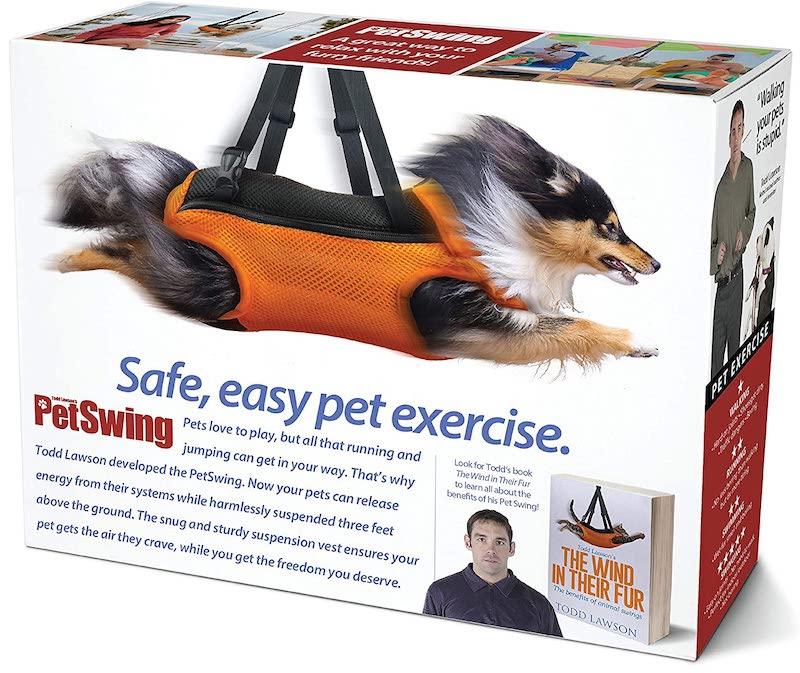 a pet swing