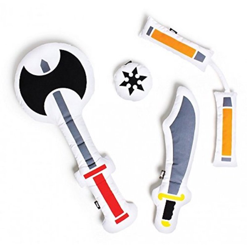 Pillow Weapons for Pillow Fights