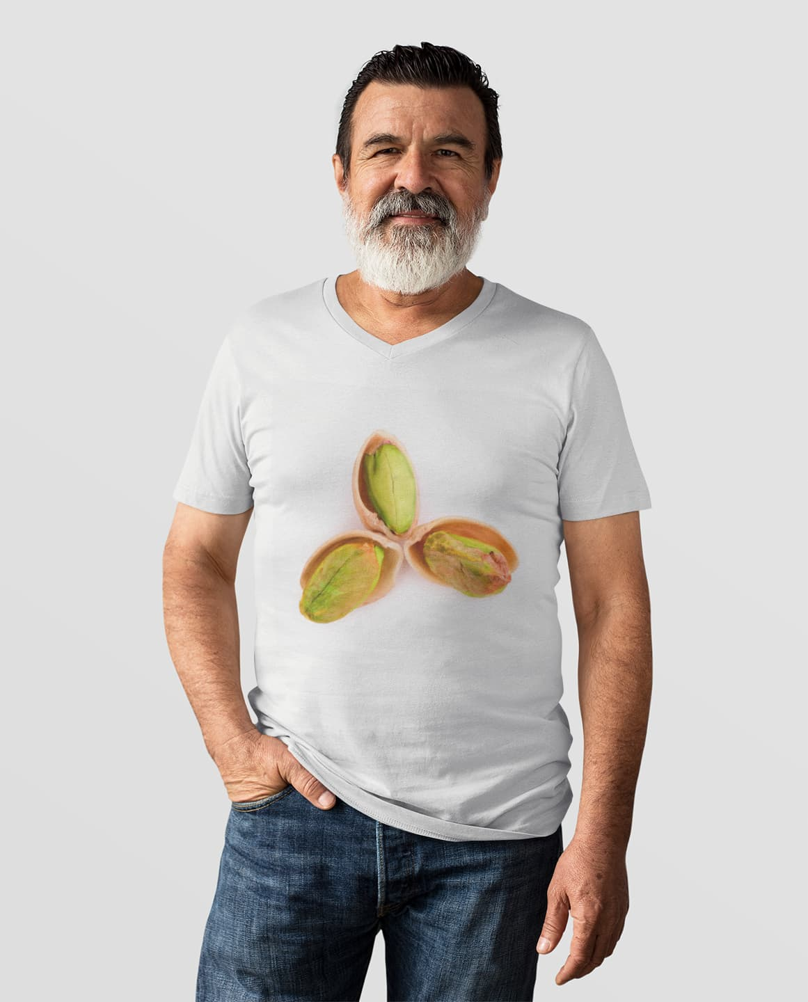 this man loves pistachios