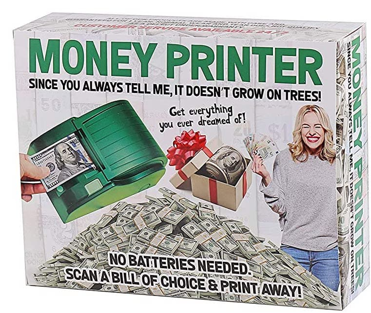the real money printer box