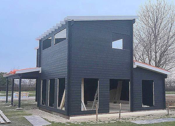 diy cabin house