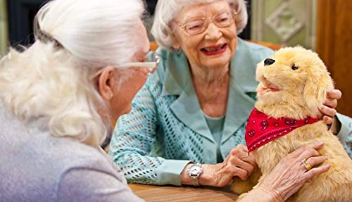 Lifelike Puppy Companion - A Realistic Furry Dog Friend 3