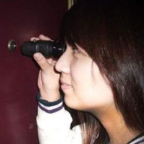 The Reverse Peephole Viewer