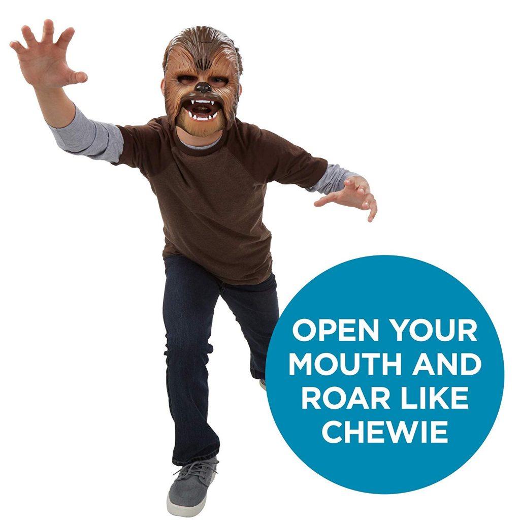 Roaring Chewbacca Mask 1