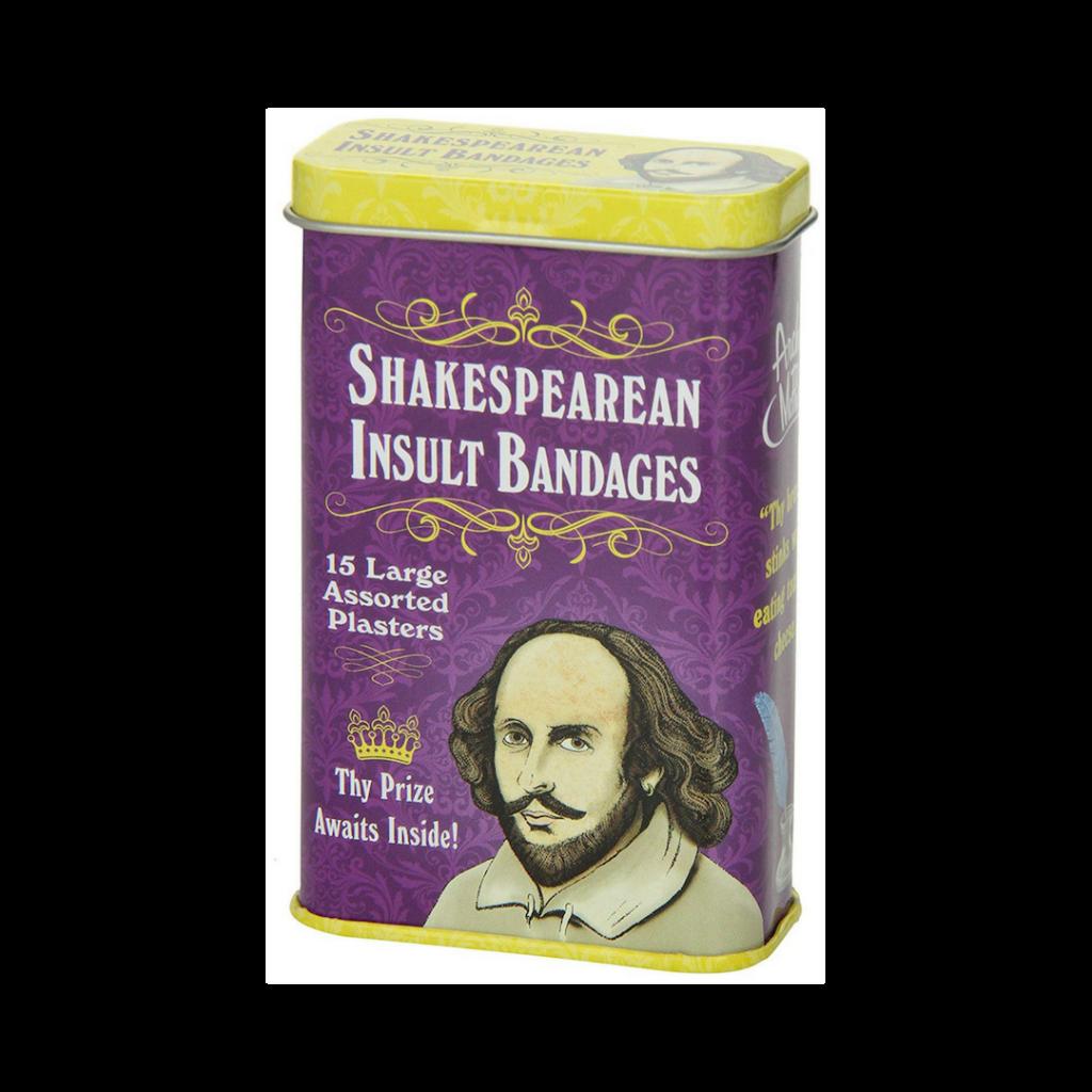 Shakespearean Insult Bandaids