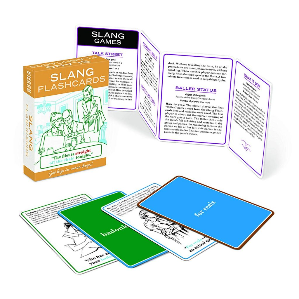 Slang Flash Card Set