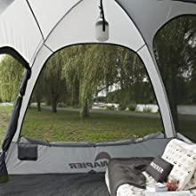 Jeep SUV tent attachment