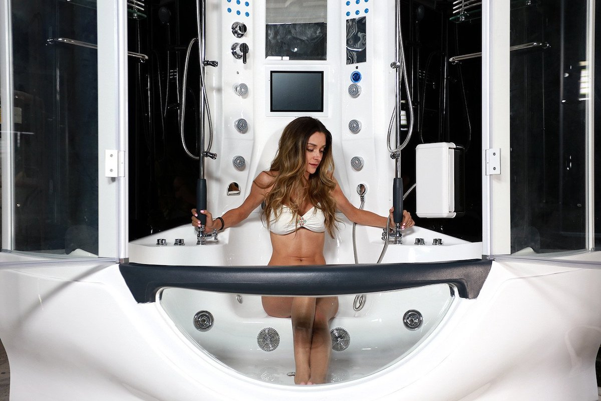 Luxury Power Shower 8