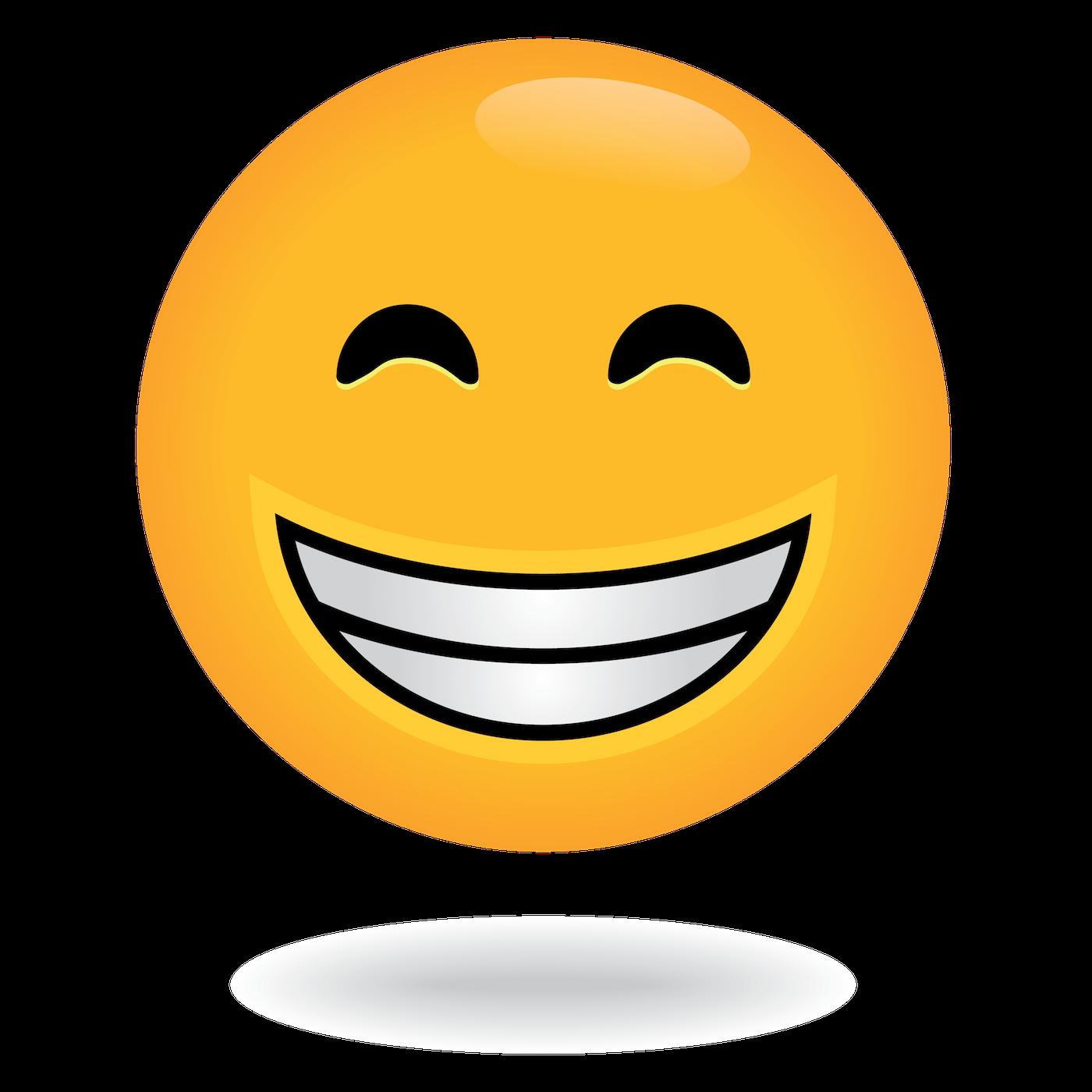 Define Awesome Super Happy Face Emoji