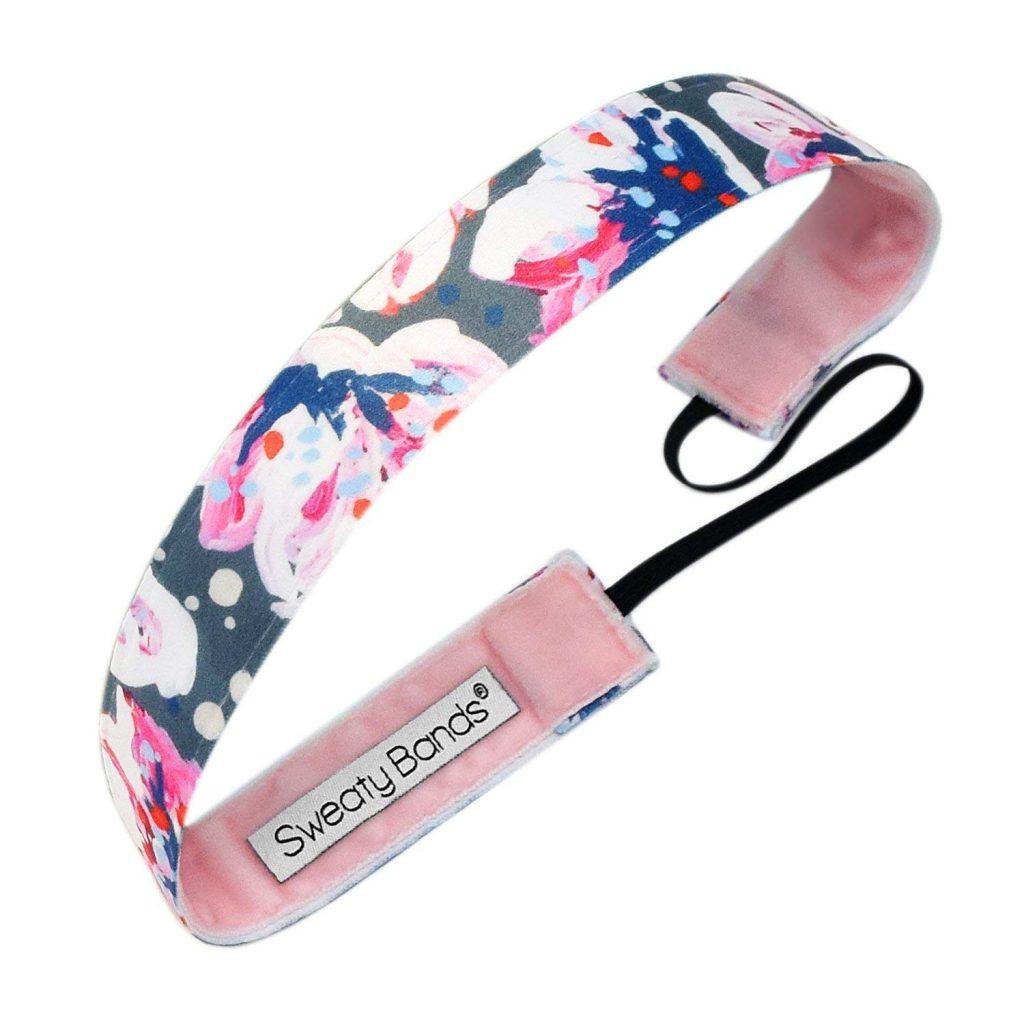 non-slip exercise headband