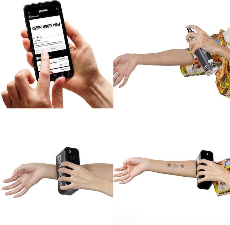 The Temporary Tattoo Printer 11