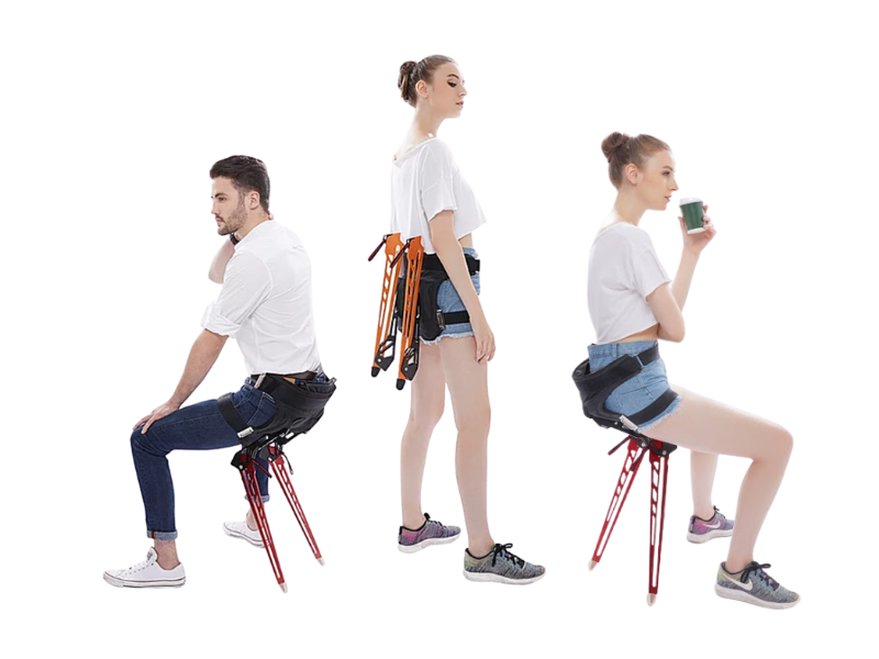 The Wearable Chair 2