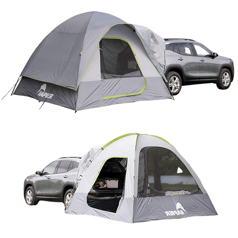 A Tent That Attaches to An SUV