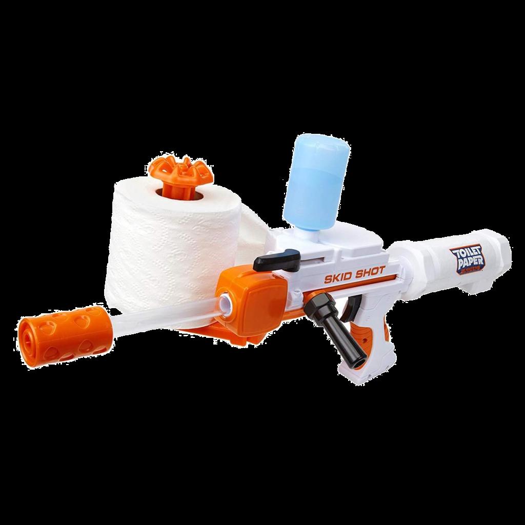 The Toilet Paper Blaster
