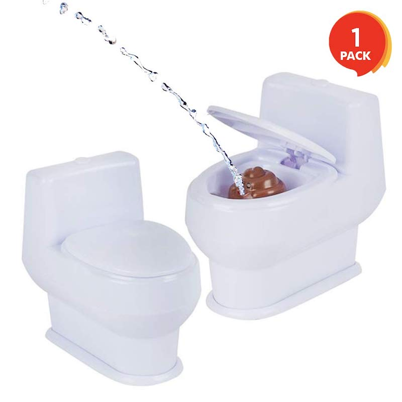 squirt gun toilet prank funny gift