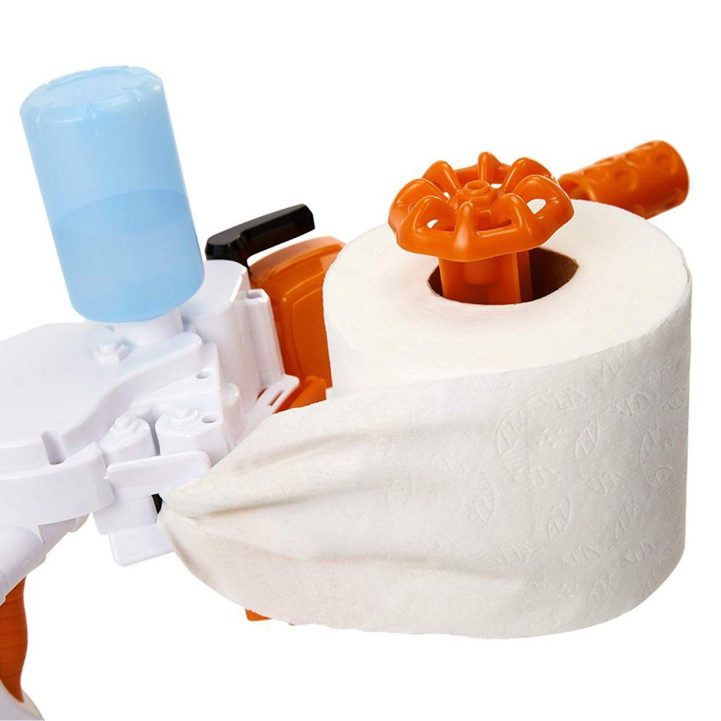 The Toilet Paper Blaster 8