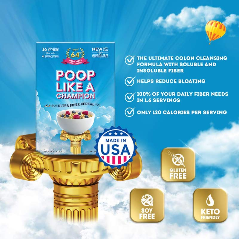 best cereal to help you poop with fiber