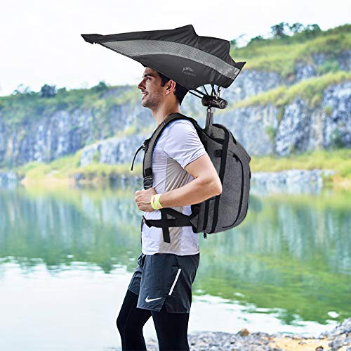 The Retractable Umbrella Backpack 1