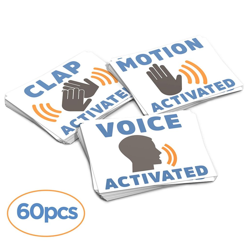Device Activating Stickers