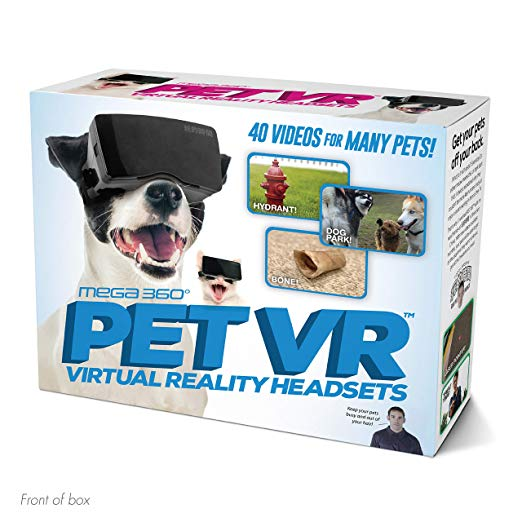 virtual reality for dogs and cats