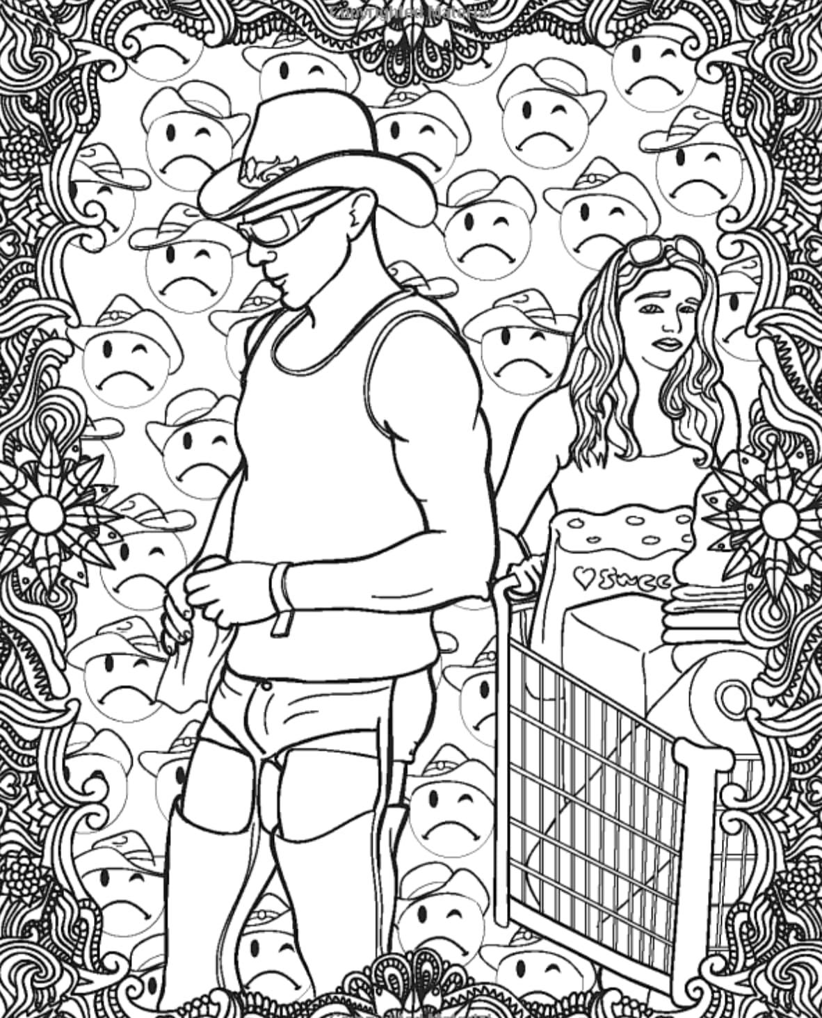 walmart coloring book image