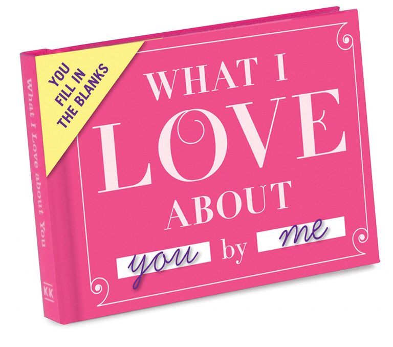 fill in the blank journal for loved one