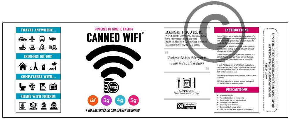 5G High-Speed CANNED WIFI 1