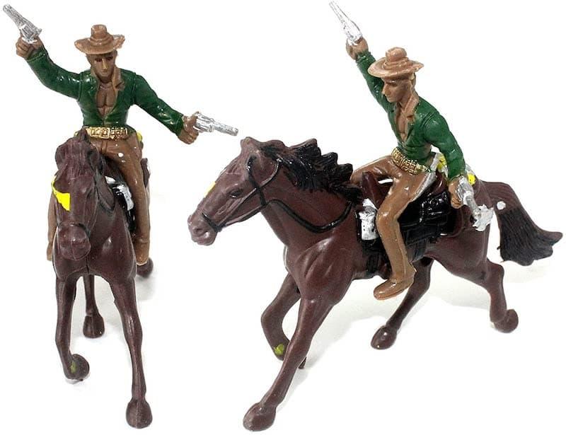 the wild west figurines