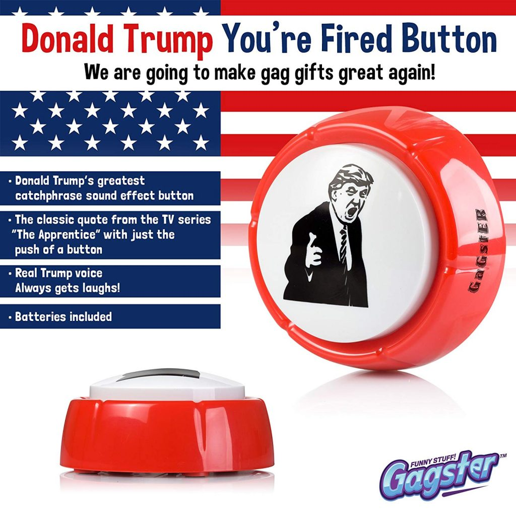 Donald Trump, You're Fired Button 5